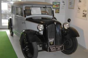 Exponat im Fahrzeugmuseum Frankenberg