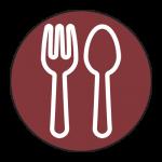 fork spoon outline